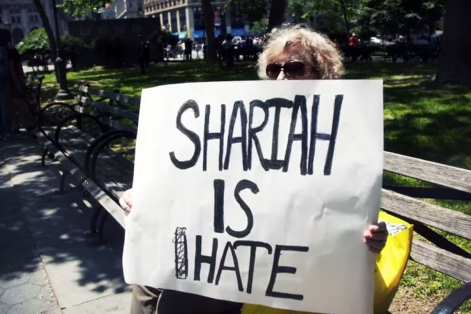 Screengrab from Al Jazeera's investigative documentary, 'Islamophobia incorporated' [Youtube]