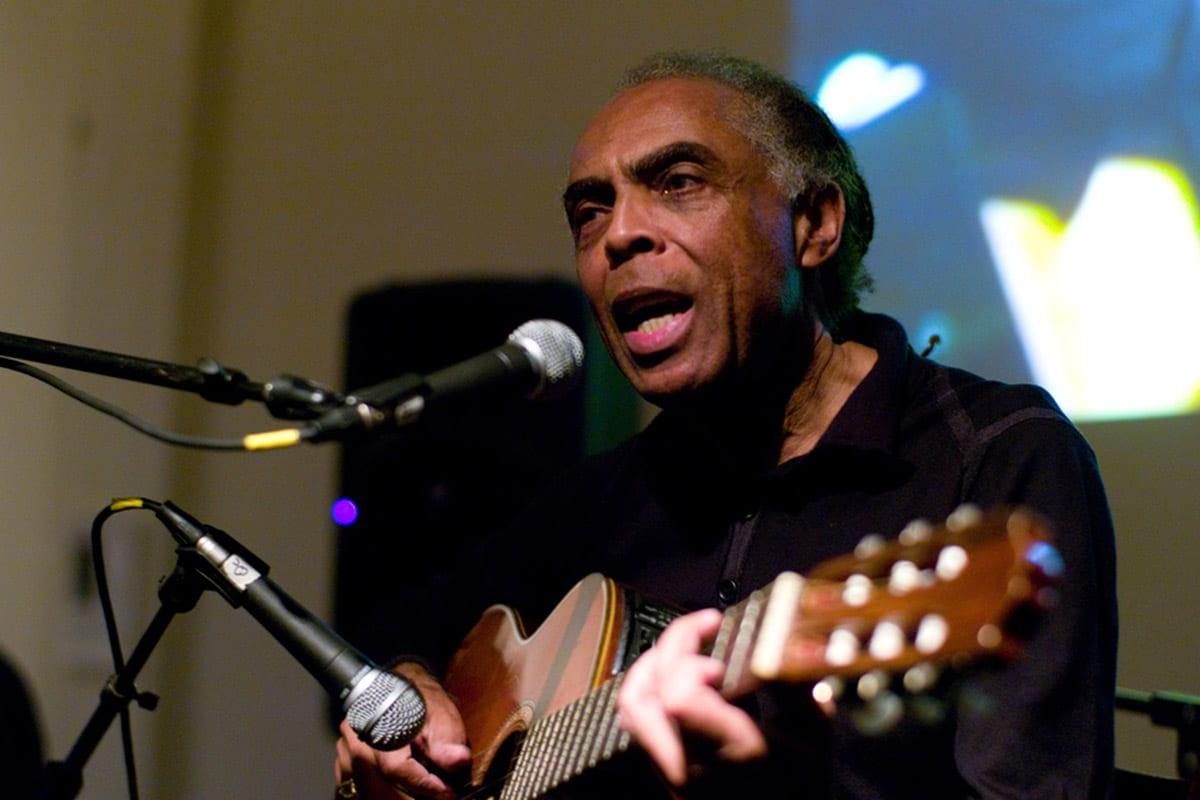 Brazilian music legend Gilberto Gil [Wikipedia]