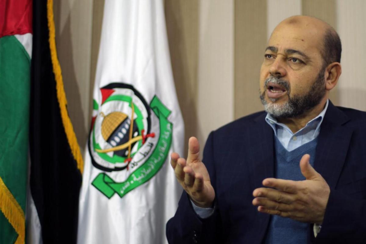 Member of Hamas' political bureau Dr. Mousa Abu Marzouq [Reuters/Mohammed Salem]