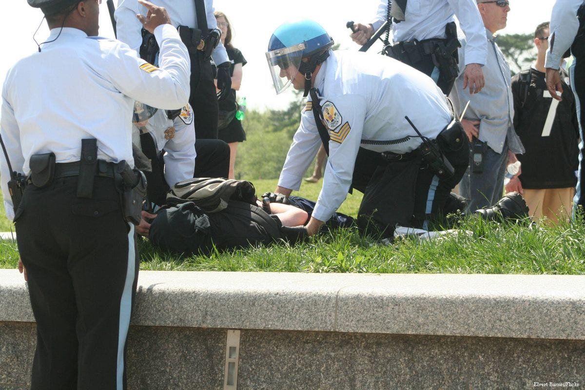 US police force [Elvert Barnes/Flickr]