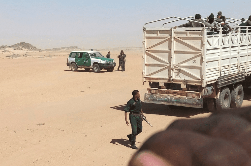 Algeria has expelled 13,000 migrants into the Sahara Desert over the past 14 months, forcing them to walk under a blistering sun without food or water [Twitter]