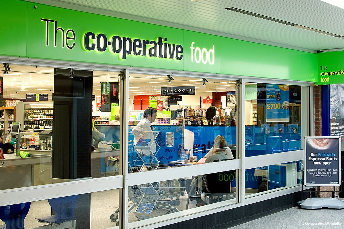 The Co-operative Group [ The Co-operative/Wikipedia]