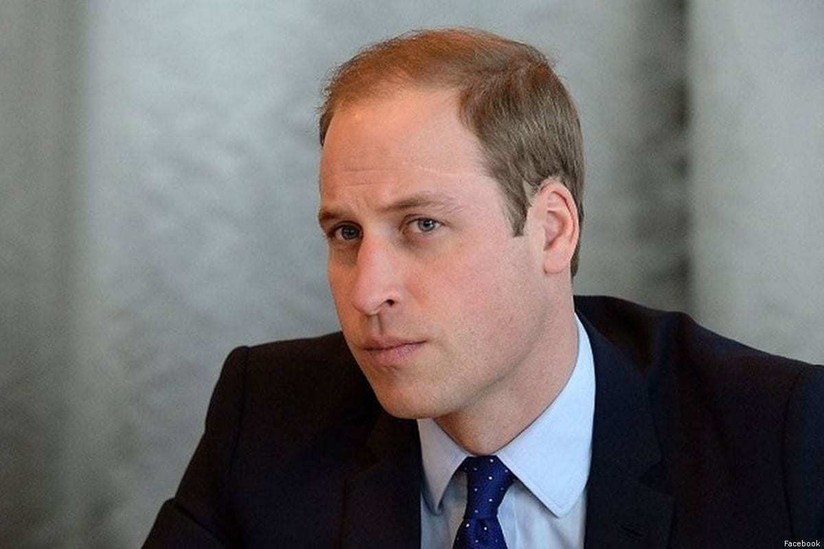 UK Prince William, Duke of Cambridge [Facebook]