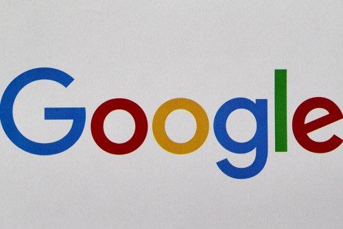 Google logo seen on a screen in Ankara, Turkey on 17 July, 2018 [Murat Kaynak/Anadolu Agency]