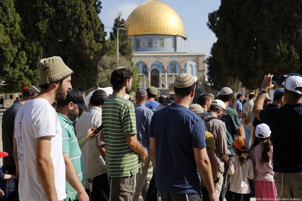 Dozens of Israel settlers storm Al-Aqsa as site reopens