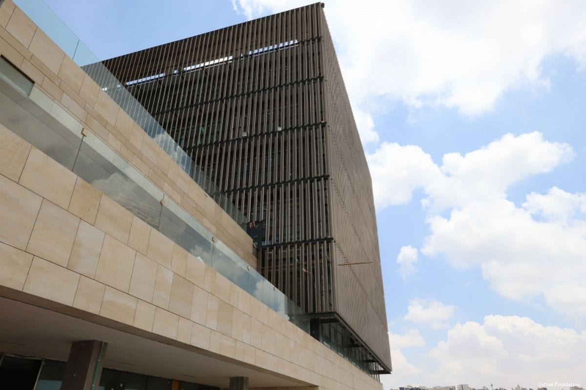 The view of a new Palestinian arts centre in West Bank [Qattan Foundation]