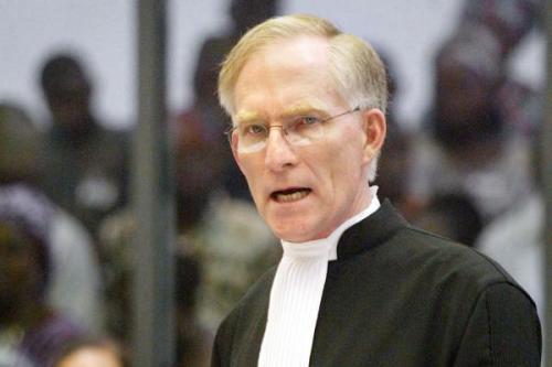 A former senior USlegal official, David Crane