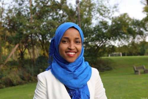 Somali-American Ilhan Omar [Facebook]