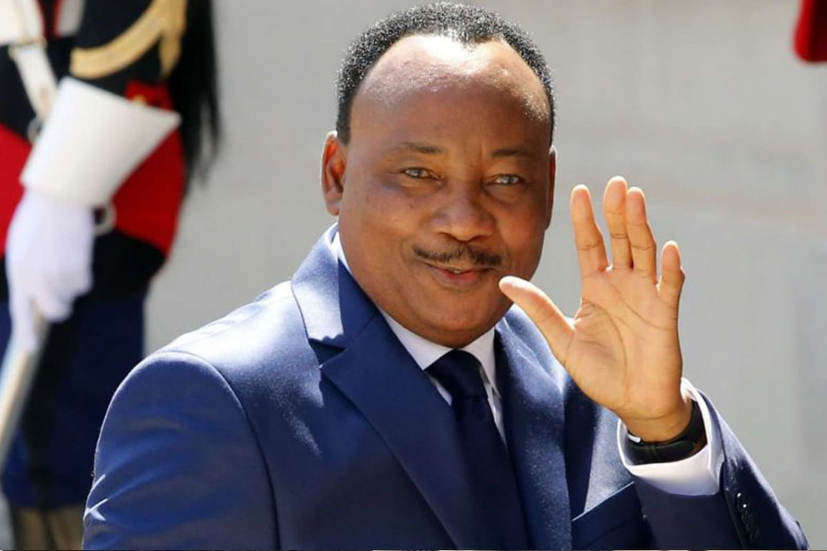 Mahamadou Issoufou, Niger's president [Wikipedia]
