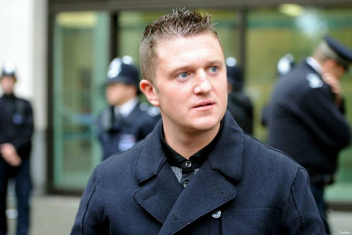 Far-right British activist Tommy Robinson [Twitter]