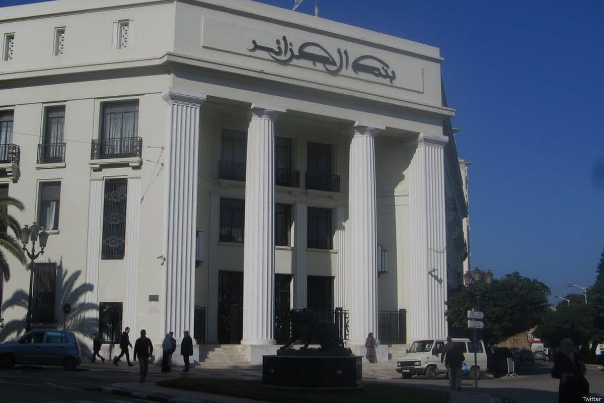 The Bank of Algeria [Twitter]