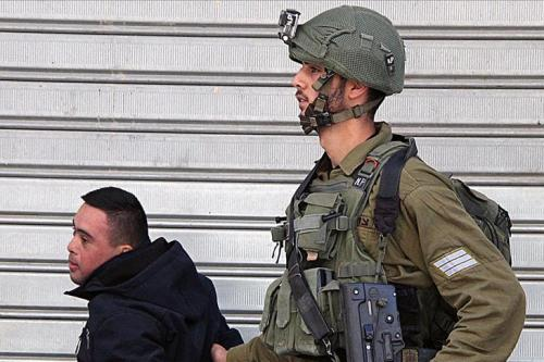 Israeli soldiers assault Palestinian with Down syndrome