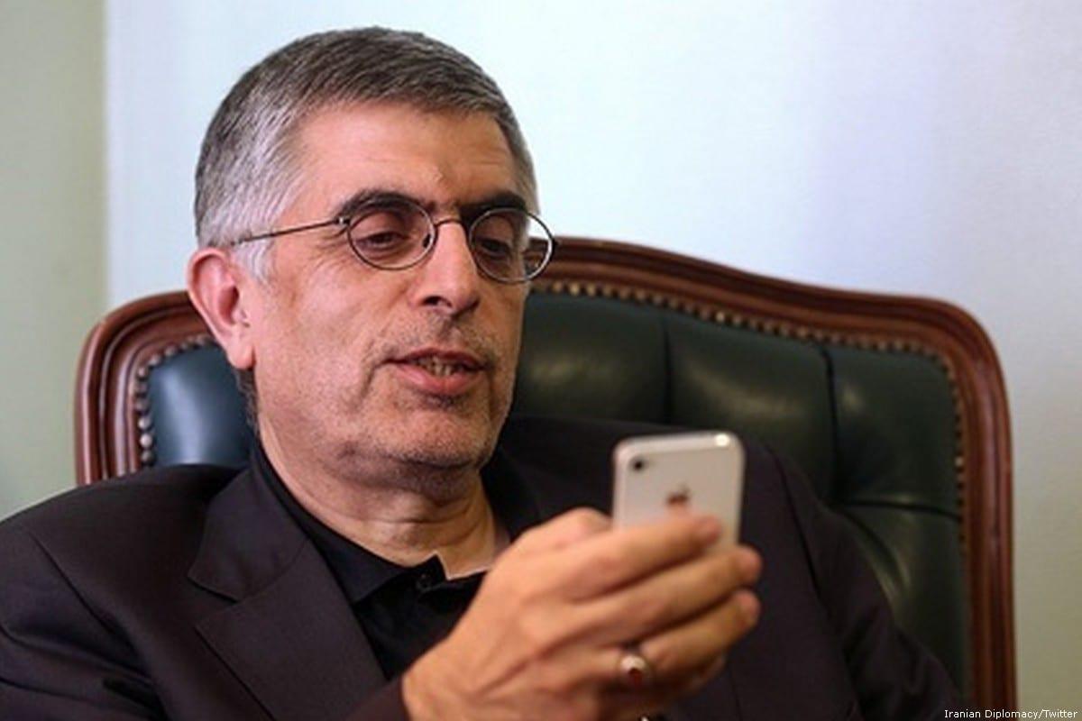 Former mayor of Tehran Gholamhossein Karbaschi [Iranian Diplomacy/Twitter]