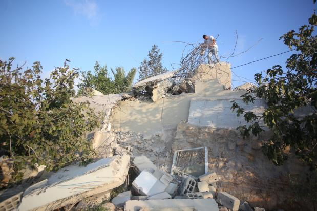 Israel demolishes Palestinian home in act of 'collective punishment