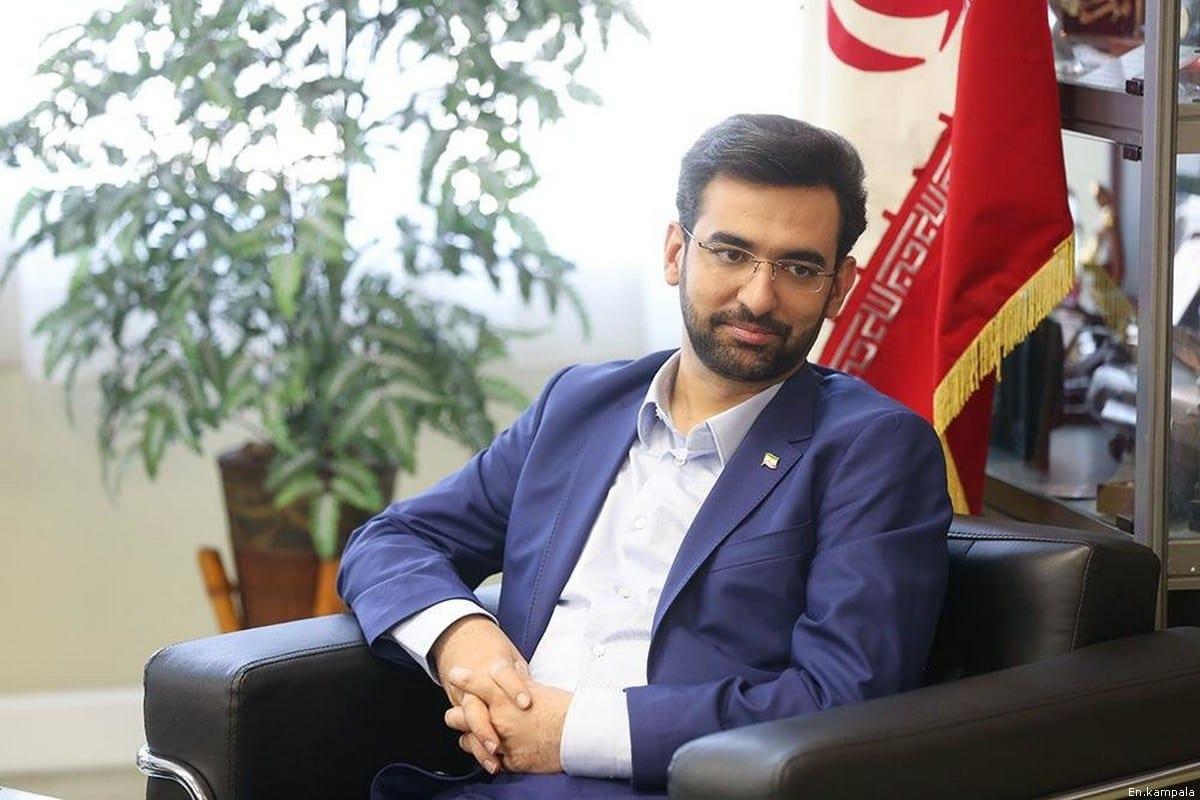 Iranian Minister of Information and Communications Technology, Mohammad-Javad Azari Jahromi [En.kampala]