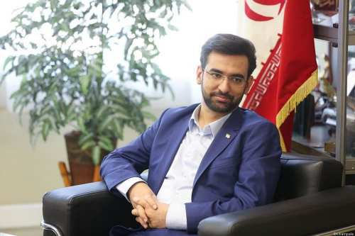 Iranian Minister of Information and Communications Technology, Mohammad-Javad Azari Jahromi [En.kampala]