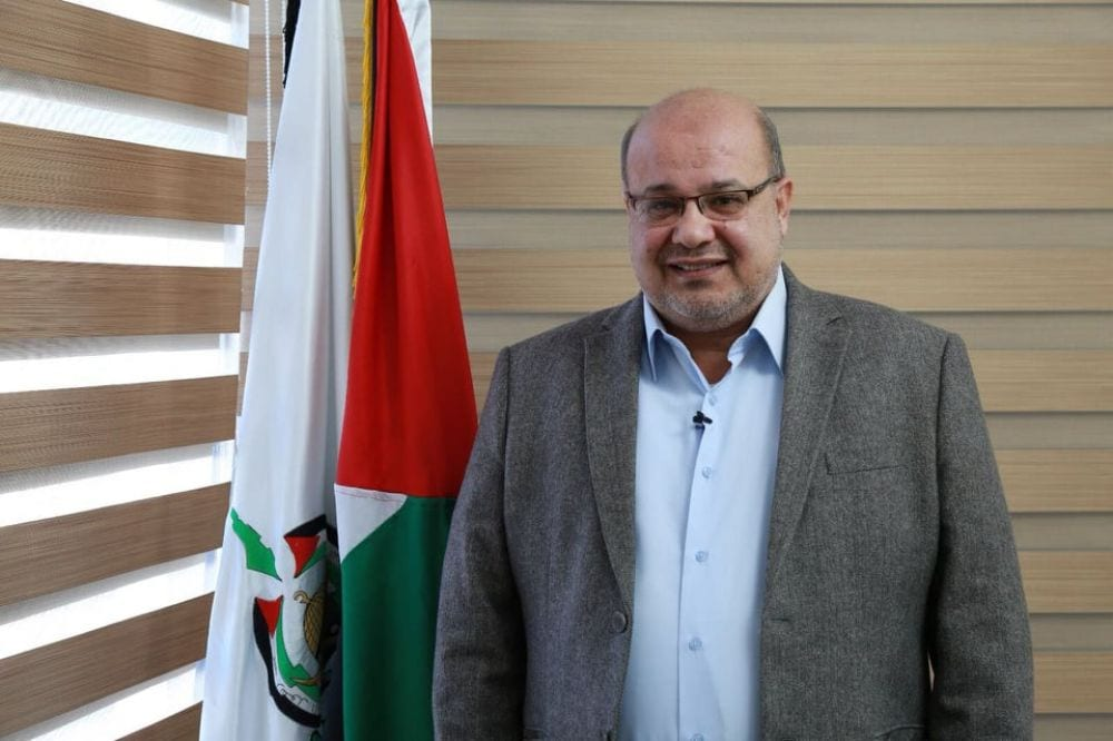 The deputy head of the Political Department in Hamas, Essam Al-Dalis