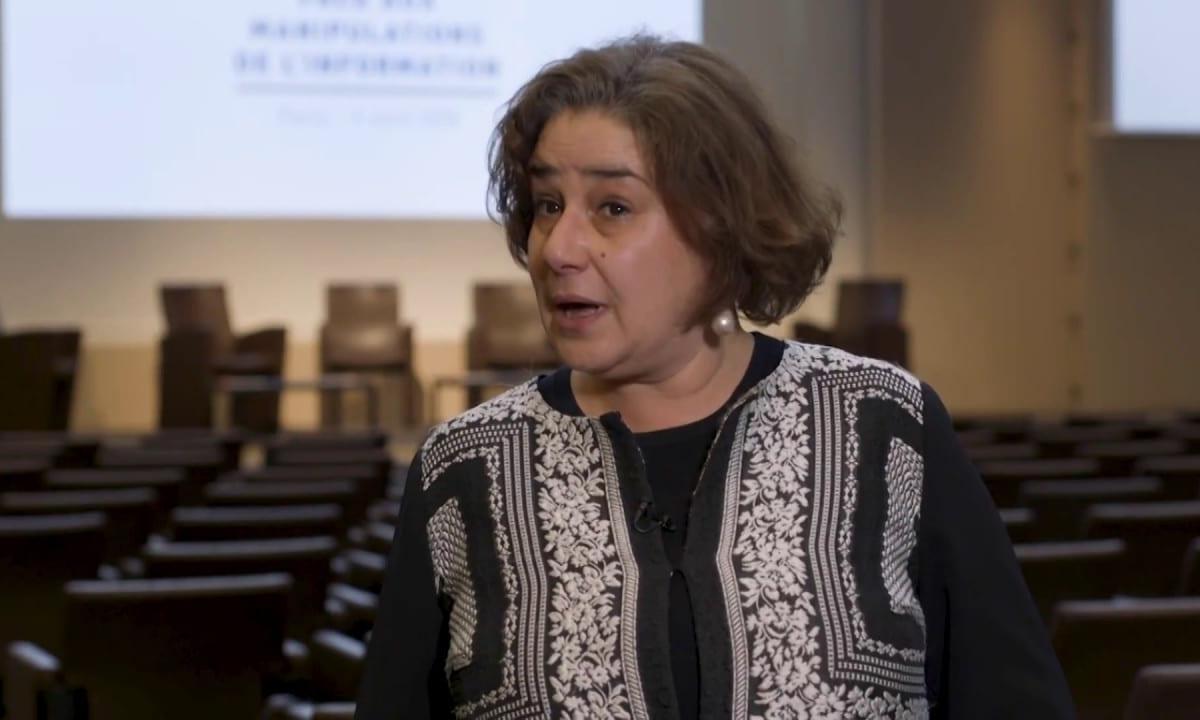 Foreign ministry spokeswoman Agnes von der Muhll