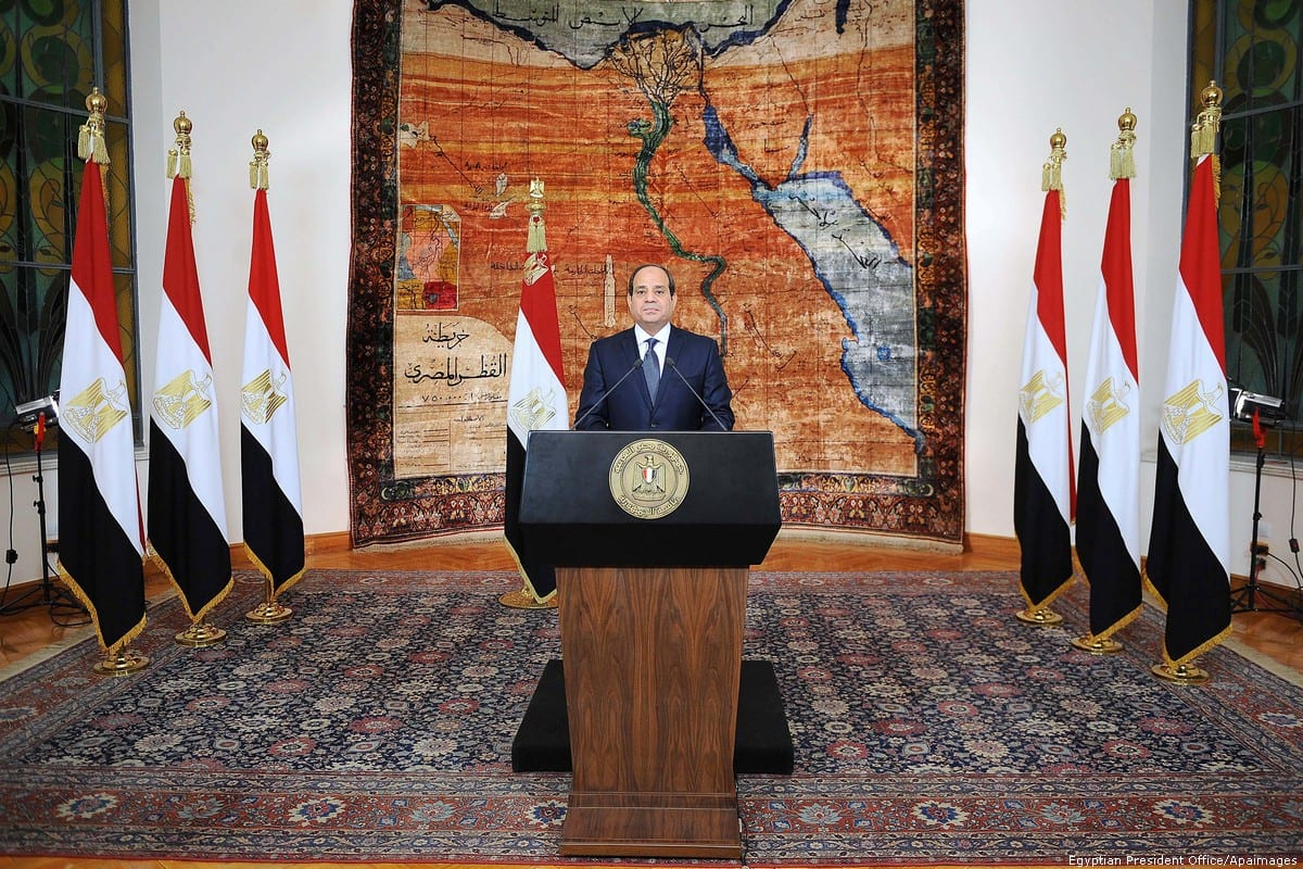 Egyptian President Abdel Fattah Al-Sisi [Egyptian President Office/Apaimages]