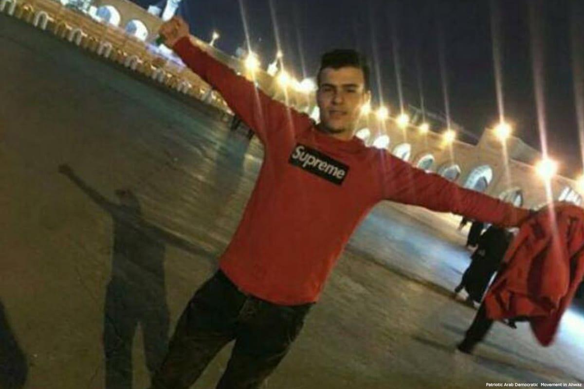 Sajad Zergani (26), was shot dead by Iranian regime security forces [Patriotic Arab Democratic Movement in Ahwaz]