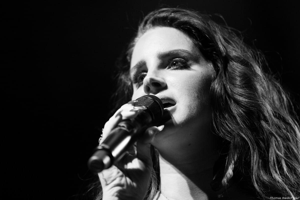 American singer Lana Del Rey [Thomas Hawk/Flickr]