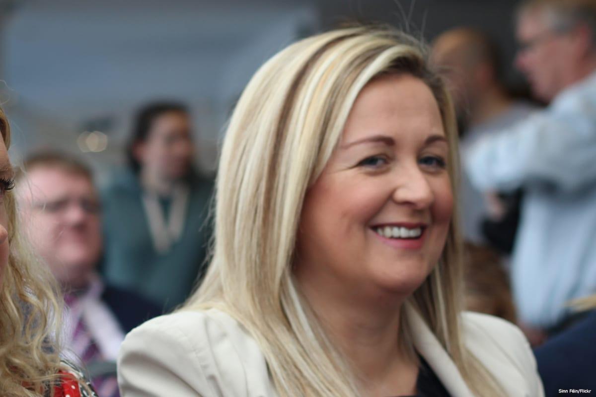 Sinéad Ennis, a Sinn Féin politician