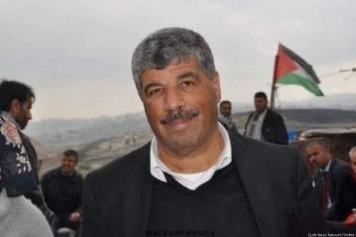 Palestinian Authority minister Walid Assaf [Quds News Network/Twitter]