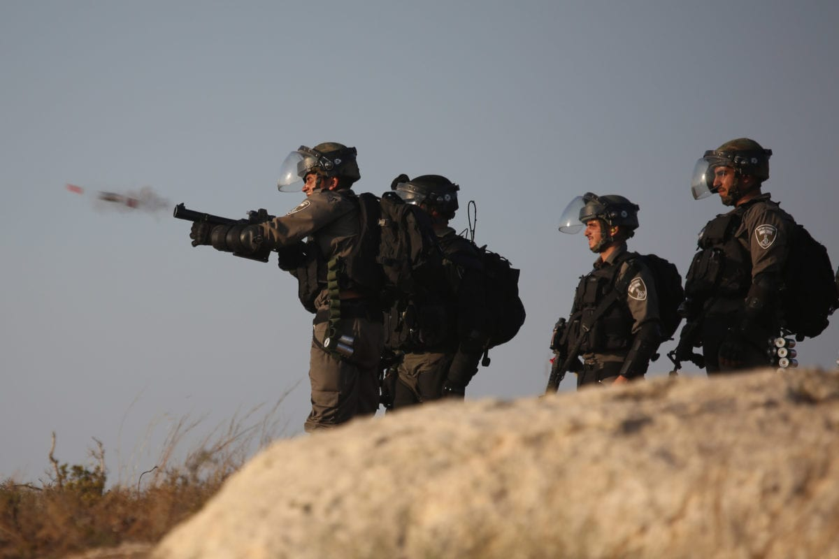 Israeli occupation forces [Issam Rimawi/Anadolu Agency]