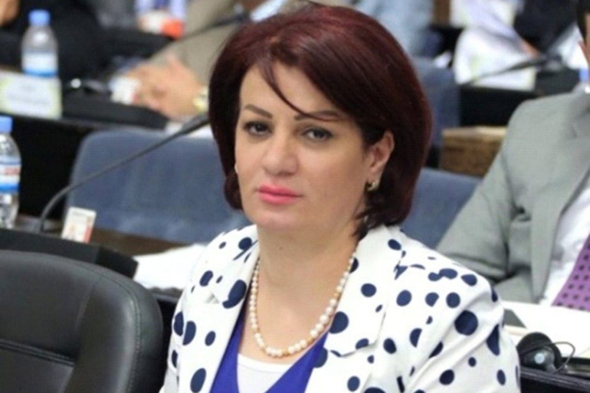 A former Kurdish lawmaker in the Iraqi parliament, Sarwa Abdul-Wahid