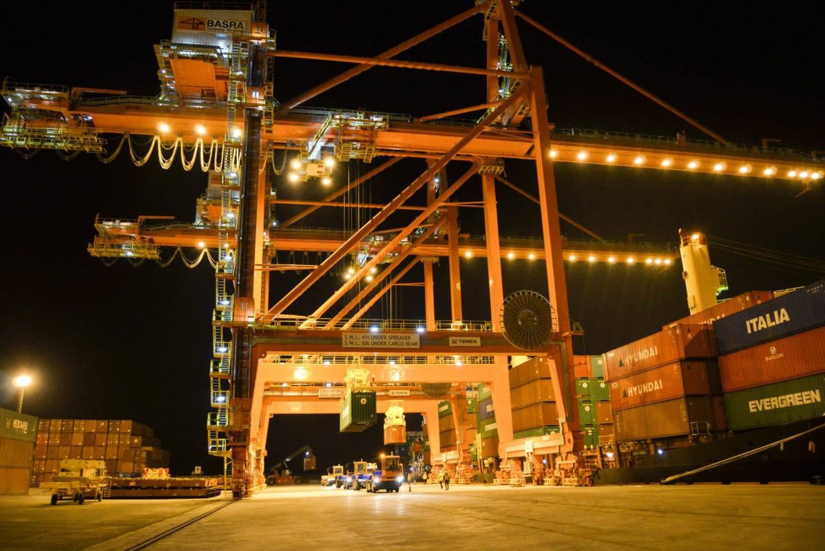 The Basra Gateway Terminal, at the Umm Qasr port in Iraq [ICTSI]