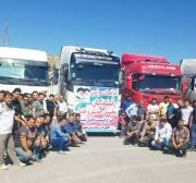 Road users stranded as oil truck drivers strike in Iran