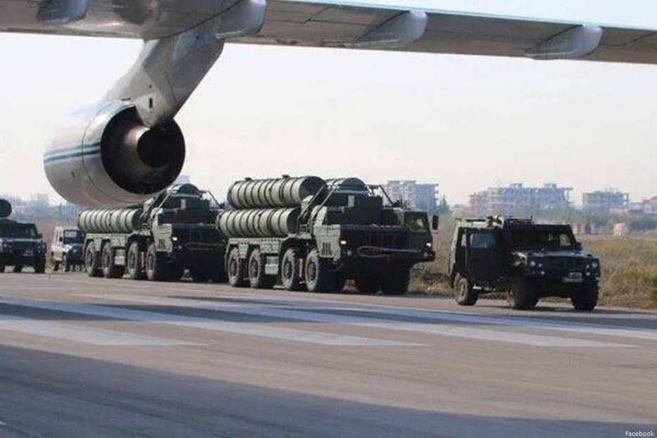Russian S-400 air defence system [Facebook]