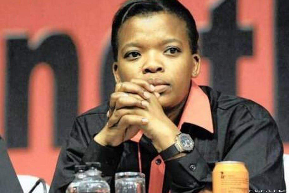 Newly-elected president of the Congress of South African Trade Unions (COSATU), Zingiswa Losi [ProfTinyiko Maluleke/Twitter]