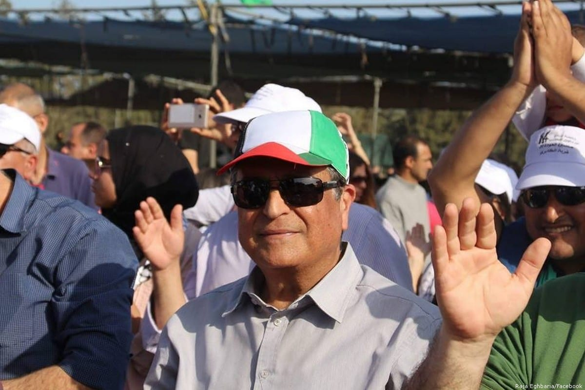 Palestinian activist and citizen of Israel, Raja Eghbaria [Raja Eghbaria/Facebook]