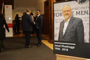 MEMO and Al-Sharq Forum host 'Remembering Jamal' to honour the late Saudi journalist in London on 29 October 2018 [Jehan Alfarra/Middle East Monitor]