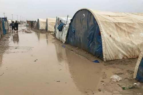 Refugee camps flooded, six dead as heavy rains hit Lebanon, Turkey [Twitter]
