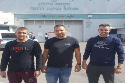 3 Jerusalemites hand themselves over to occupation forces on charges of travelling to Lebanon [Quds Press]