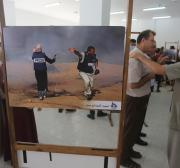 Photo exhibition highlights Israel's violations against journalists in Gaza