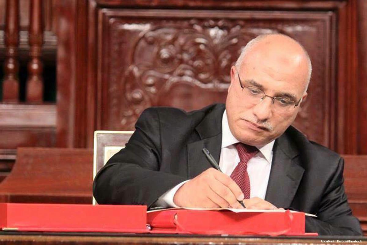Chairman of Ennahda Movement's Consultative Council in Tunisia, Abdelkarim Harouni [Abdelkarim Harouni/Facebook]