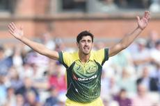 Mitchell Aaron Starc, is an Australian international cricketer who plays for the Australian national team [ Australian Men's Cricket Team/Facebook]