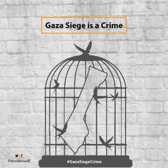 Gaza Siege is a Crime