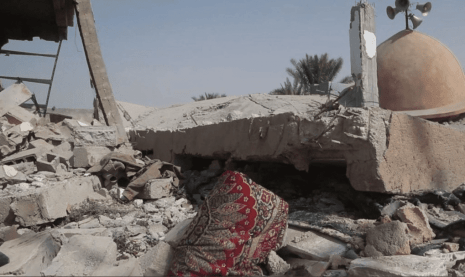US-led coalition kills 41 civilians in Syria mosque bombing [Twitter]