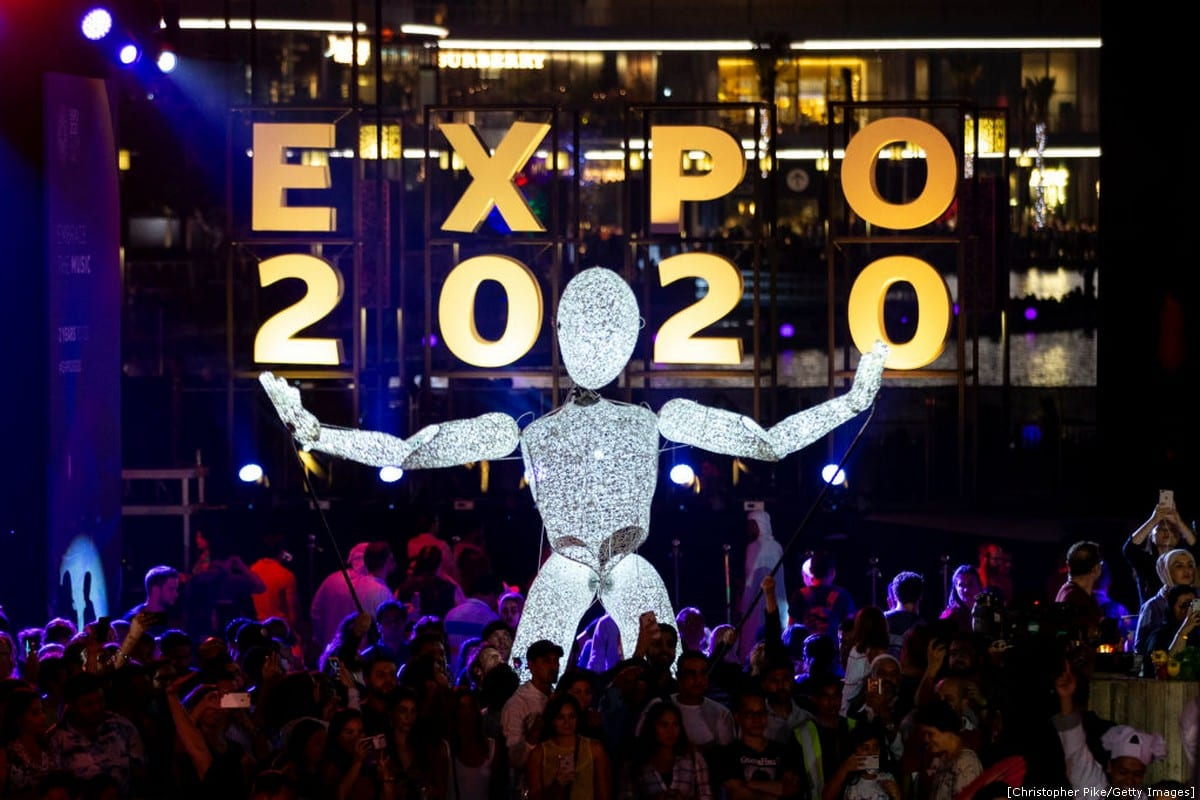 The UAE threw a big party to mark 2 years until Dubai hosts #Expo2020! [Christopher Pike/Getty Images]