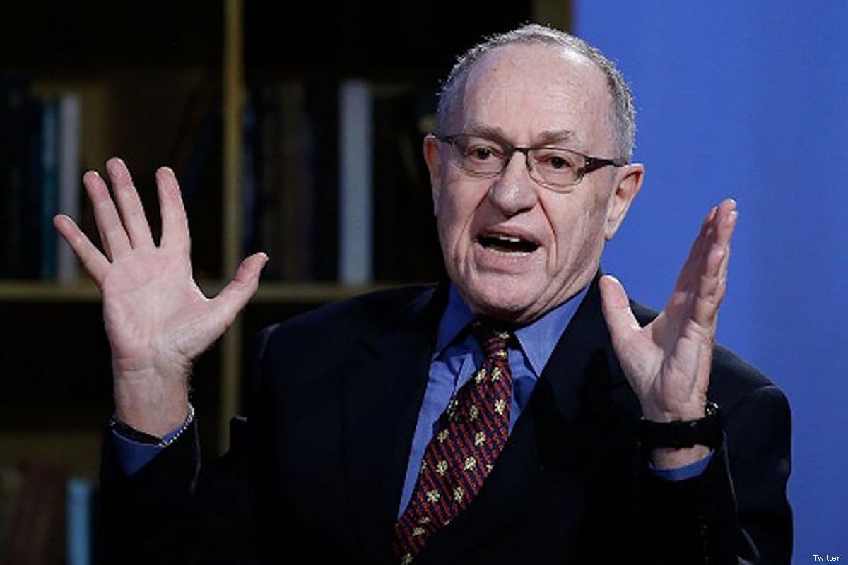 Harvard law professor Alan Dershowitz [Twitter]