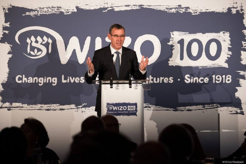 Mark Regev, the Israeli ambassador to the UK, 23 November 2018