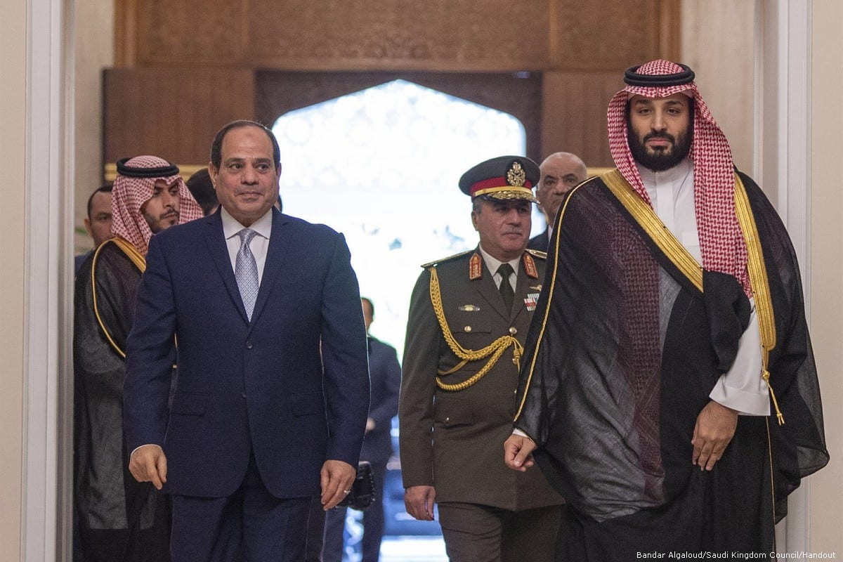 Saudi Crown Prince Visiting Arab Allies