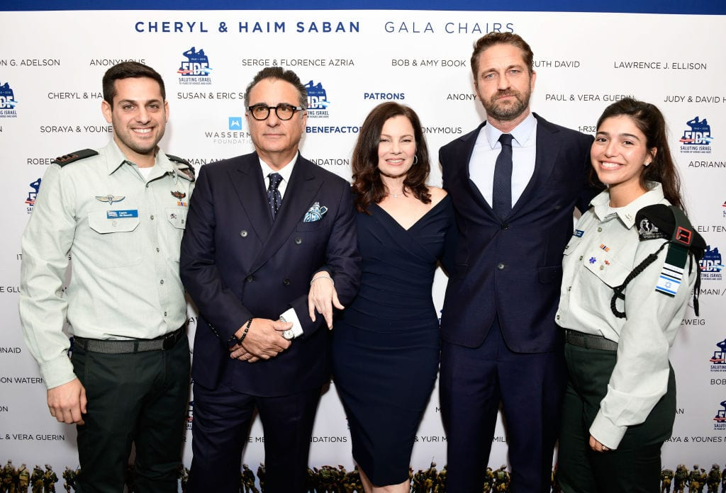Hollywood stars raise record $60m for Israel army