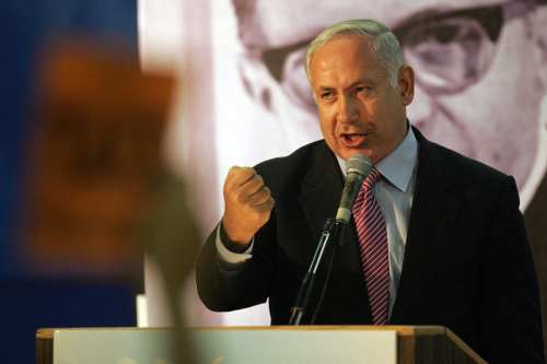 Israeli prime minister Benjamin Netanyahu [Yoav Lemmer/Getty Images]