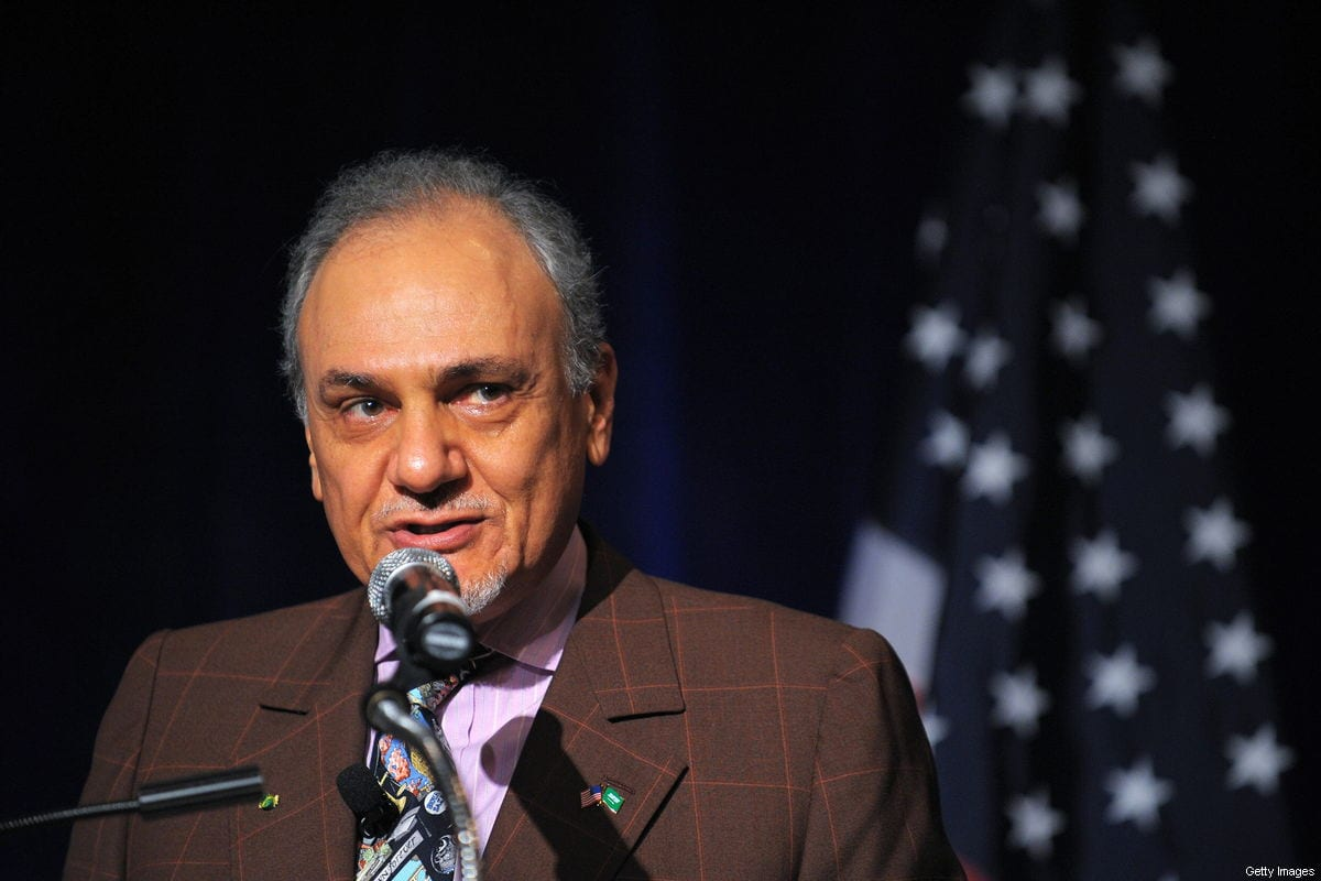 Saudi Prince Turki Al-Faisal, former Saudi ambassador to the US and former director of the Saudi Intelligence Services on April 27, 2009 [MANDEL NGAN/AFP/Getty Images]