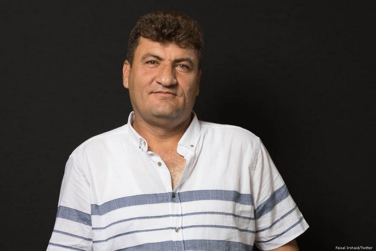 Raed Fares, a Syrian activist was shot dead in the north-western town of Kafranbel, Syria [Faisal Irshaid/Twitter]